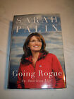 Going Rogue An American Life by Sarah Palin SIGNED 1st 1st 2009 HCDJ Tea Party