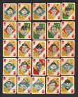 1951 Topps Blue Backs HOFers Snider Berra Baseball Cards Lot (25)