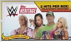 2018 Topps Heritage WWE Hobby Box Factory Sealed