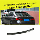 Rear Roof Wing Spoiler Carbon Fiber Factory Fit for BMW F30 3 Series 4Dr 12-16