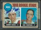 2004 TOPPS ORIGINAL BUY BACK 1968 JOHNNY BENCH #247 RC AUTO 01 01