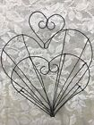 Wire Ware Heart Plate / Lid Holder