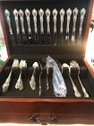 Reed and Barton Sterling Flatware Set 12, New