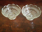 Anchor Hocking Wexford - A Pair Of Bowl Candle Holders
