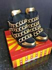 Jeffrey Campbell  ALMOST  WEDGE SneakerS 75 Black Gold Chain Hurry Up