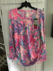 NWT Lilly Pulitzer Meryl Wes Light Pascha Pink Aquadesiac XL Free Shipping