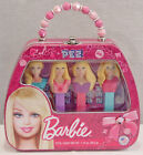 BARBIE LIMITED EDITION 2013 PEZ TIN PURSE 4 DISPENSERS + CANDY GIFT SET NEW