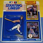 1990 MARK GRACE Chicago Cubs NM- power swing - FREE s/h- Starting Lineup + 1988