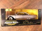Ertl 1960 Ford Starliner American Muscle LE Memories 1 18th Diecast NEW Silver