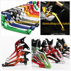 FOR HONDA XLR125 R-W 1998-2002 CLUTCH BRAKE LEVERS SET EXTENDABLE 2001 2000 1999