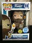 Funko Pop Myths #16 Bigfoot with Glow Marshmallow Stick Shop Exclusive