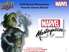 2018 Upper Deck Marvel Masterpieces Hobby Box PRESALE 10 31 18
