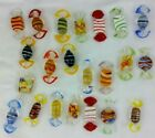 Lot of 22 Vintage Murano Blown Glass Wrapped Candy Pieces