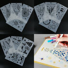 1Pc Set Layering Stencils Template For Wall Paint Scrapbooking Stamping Craft TS