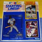1990 EDDIE MURRAY sole Los Angeles Dodgers -00 s/h- Starting Lineup + 1977 card