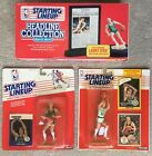 Larry Bird 1988 and 1990 Starting Lineup and 1992 Headline Collection