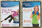 WEIGHT WATCHERS BELLY BUTT  THIGHS and PUNCH EXERCISE DVDs