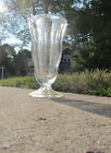 Anchor Hocking Ice Cream Soda Milk Shake Sundae Clear thick Glass Tumblers 6 3/4