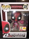 Funko Pop SDCC 2018 Exc Marvel Cheerleader Deadpool *Official Sticker* IN HAND