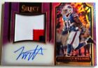 Jonathan Williams 2016 Select Refractor w Dual Jersey Autograph -SP 60/60  Bills