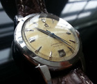 Vintage Omega Seamaster Calendar with automatic bumper movement