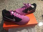 NIKE ZOOM FLY Womens Violet Black Athletic Running Sneakers Shoe Size 75