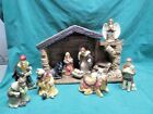 Thomas Pacconi Classics Christmas Nativity Scene with Manger Baby Jesus Angel