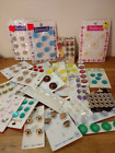 Lot of Vi ntage Card Buttons
