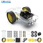 2WD Smart Robot Car Chassis Kit Arduino 2 motor 148 Speed encoder Battery Box