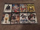 Lot Of 8 Sony Playstatuon 2 Games In Excellent Condition
