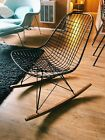 Vintage Eames Wire Rocking Chair