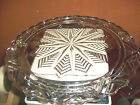 STAR Footed Cake Plate 11 1/4 wide )