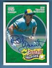 Robin Yount 2005 UD Heroes Autograph