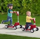Radio Flyer Ride 2 Glide Toy Scooter Ride on 2 In 1 Grow With Me New In Box