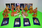 Fontanini 5 Nativity Figurines Inn Keeper  Family Animals Guests And Workers