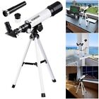 360x50mm Refractor Astronomical Telescope Eyepieces w Tripod for Kids Beginners