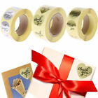 500pcs Thank You Adhesive Stickers Labels For Scrapbook Birthday Wedding Decor