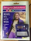 Vtg Weight Watchers Success 1 2 3 Pedometer  Walking Guide Earn Points NEW