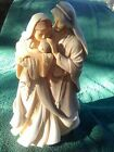 Enesco Foundations 4034768 Holy Family Nativity A Child Is Born Figures
