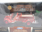 Yat Ming Diecast 1938 Ford Fire Engine Road Signature Series 124