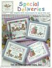 Special Deliveries Birth Announcement Design Connection Cross Stitch Pattern NEW