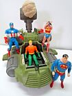 VINTAGE 1984 KENNER SUPER POWERS BOULDER BOMBER SUPERMAN WONDER WOMAN FLASH TOYS