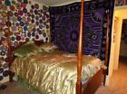 Queen size poster bed Frame.EUC.Pick up ONLY. Cannot ship