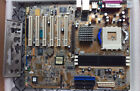 ASUS A7V600 mainboard Socket 462 A 2GB RAM GeForce 6200 AGP video I O plate