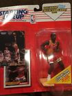 Atlanta Hawks Stacey Augmon 1993 Starting Lineup Action Figure With Two Cards