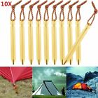 7 inches Aluminum Tent Peg Stakes for Camping Hiking Gardening TripCanopy BT