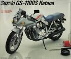 Testors 1:8 Suzuki GS-1100S Katana Plastic Model Kit #431U