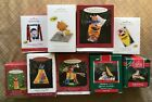 Hallmark Keepsake Ornaments Lot of 9
