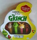 Pez THE GRINCH COLLECTIBLE GIFT TIN  4 Pez Dispensers  2018