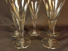 5 Wine Cordials, water, goblet Dorothy Thorpe Style Wine Glasses Party Glasses